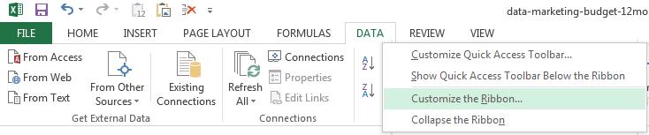tutorial-excel-data-tab-customize