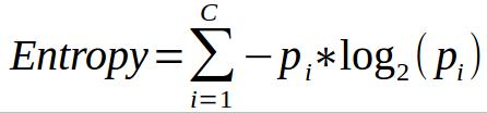 Entropy Calculation