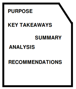 Core Elements of Reports
