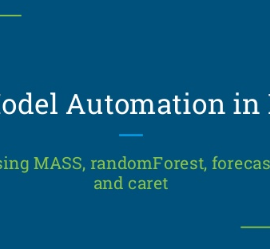 Model Automation using R